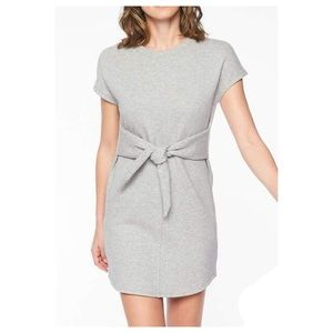 Athleta Embrace Gray Sweatshirt Dress M